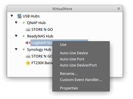 VirtualHere USB Client | VirtualHere
